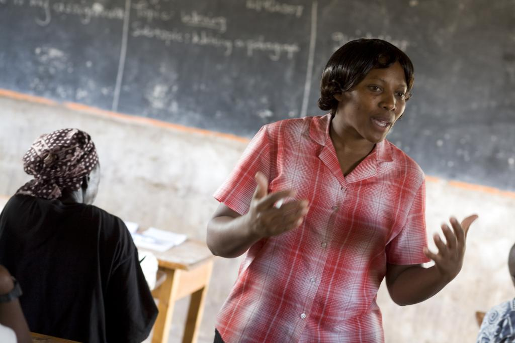A new teacher training scholarship programme for young women