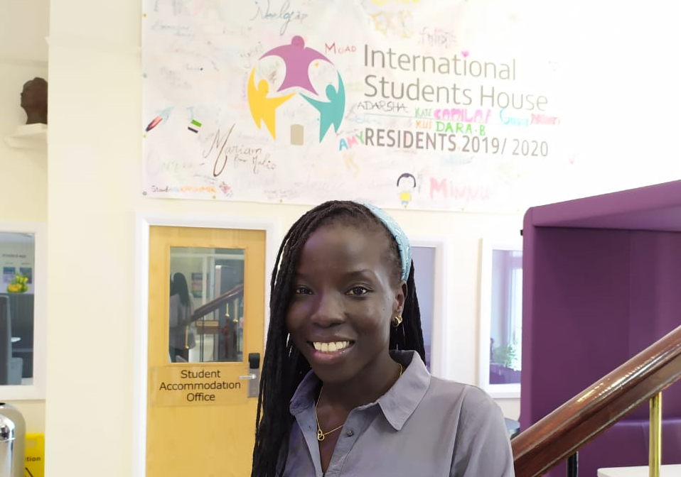 Grace at International Students' House - Windle Trust International