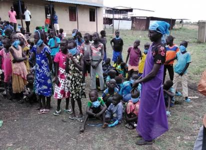 A school reopening in Nile State